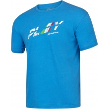 Tee-Shirt Babolat Exercise Country Bleu