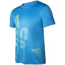 Tee-Shirt Babolat Exercise Big Babolat Bleu