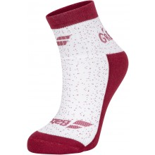 Chaussettes Babolat Femme Graphic Blanches