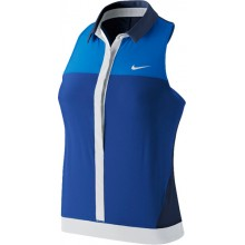 Polo Nike Femme Premier Sans Manches Bleu