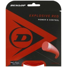 Cordage Dunlop explosive Red