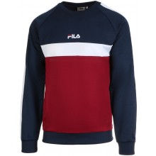 Sweat Fila Paavo Ras Du Cou Bordeaux