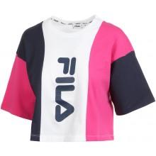 Tee-Shirt Fila Bai Cropped Top Jaune