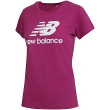 Tee-Shirt New Balance Femme Lifestyle Violet