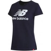 Tee-Shirt New Balance Femme Lifestyle Marine