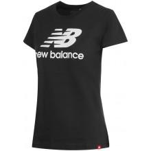 Tee-Shirt New Balance Femme Lifestyle Noir