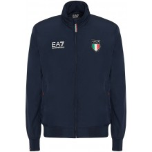 Veste EA7 Italia Team Official Marine