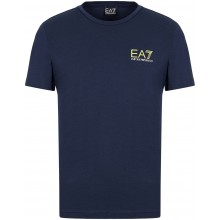 Tee-Shirt EA7 Train Logo Series Extended Blanc
