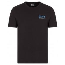 Tee-Shirt EA7 Train Logo Series Extended Noir