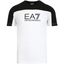 Tee-Shirt EA7 Urban ColorBlock Blanc