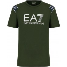 Tee-Shirt EA7 Tennis Club Kaki