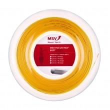 BOBINE MSV FOCUS-HEX SOFT (200 METRES)