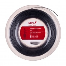 Bobine MSV Focus-Hex Soft Noir (200 Mètres)