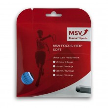 Cordage MSV Focus Hex Soft Rouge (12 mètres)