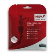 Cordage MSV Focus Hex Plus 38 Blanc (12 mètres)