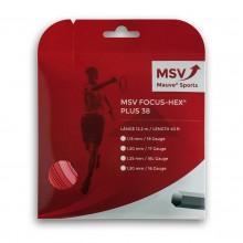 Cordage MSV Focus Hex Plus 38 Rouge (12 mètres)