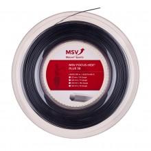 Bobine MSV Focus Hex Plus 38 Noir (200 Mètres)