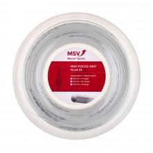 Bobine MSV Focus Hex Plus 25 Noir (200 Mètres)