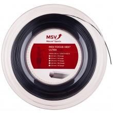 Bobine MSV Focus Hex Ultra Noir - 200 Mètres