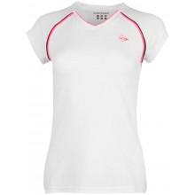 Tee-Shirt Dunlop Femme Crew Performance Blanc