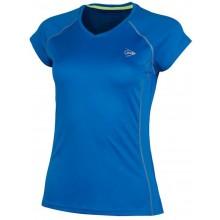 Tee-Shirt Dunlop Femme Crew Club Bleu