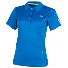Polo Dunlop Femme Club Bleu