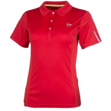 Polo Dunlop Femme Club Rouge