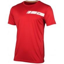 Tee-Shirt Dunlop Junior Garçon Crew Rouge