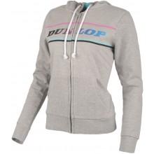 Sweat à capuche Dunlop Femme Essential Gris
