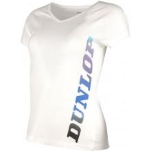 Tee-Shirt Dunlop Femme Crew Essentiel Blanc