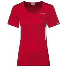 Tee-Shirt Head Femme Club Tech Rouge