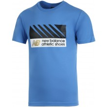 Tee-Shirt New Balance Lifestyle Bleu