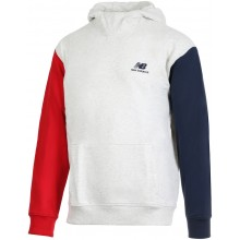 Sweat à Capuche New Balance Lifestyle Blanc