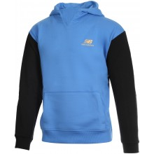 Sweat à Capuche New Balance Lifestyle Bleu