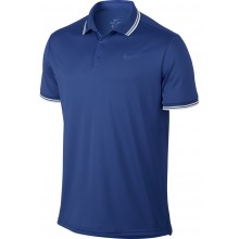 Polo Nike Court Dry Solid Bleu