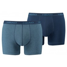 Pack de 2 Boxers Head Basic Bleu