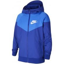 Veste Nike Junior Windrunner Bleue