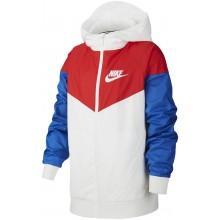 Veste Nike Junior Windrunner Blanc