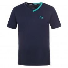 Tee-Shirt Li-Ning Homme Viktor Bleu