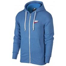 Sweat Nike Heritage à Capuche Zippé Bleu