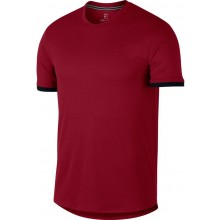 Tee-Shirt Nike Court Dry Colorblock Rouge