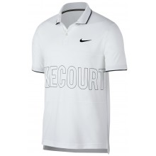 Polo Nike Court Dry Blanc