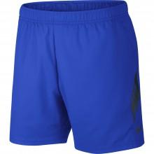 Short Nike Court Dry 73 Bleu