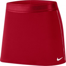 Jupe Nike Court Dry Straight Rouge