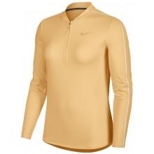Tee-Shirt Nike Court Femme Dry Manches Longues Mandarine