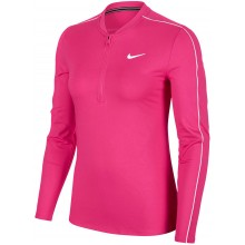Tee-Shirt Nike Court Femme Dry Manches Longues Rose