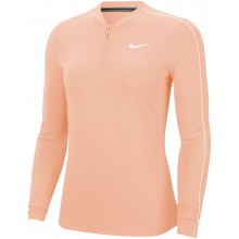 Tee-Shirt Nike Court Femme Manches Longues Saumon