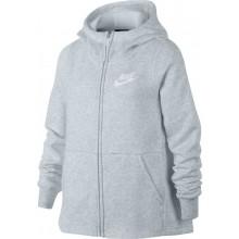 Sweat à Capuche Nike Junior Fille Sportswear Zippé Gris