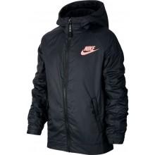 Veste Nike Junior À Capuche Fleece Noire