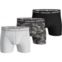 Pack de 3 Boxers Bjorn Borg Shadeline